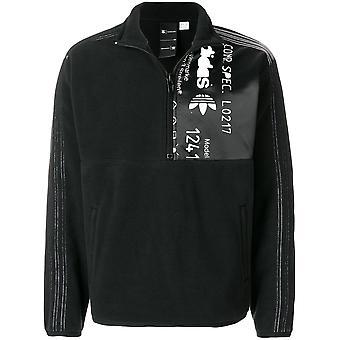 Adidas By Alexander Wang Ezcr024010 Men's Black Cotton Sweatshirt