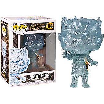 Game of Thrones Crystal Night King with Dagger Pop! Vinyl