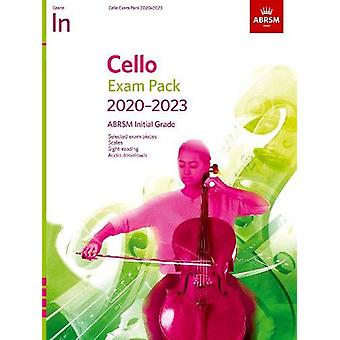 Cello Exam Pack 2020-2023 - Initial Grade - Score & Part - with au