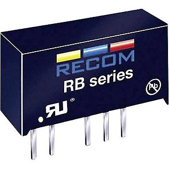 RECOM RB-1212D/H DC/DC converter (print) +12 V, -12 V 42 mA 1 W No. of outputs: 2 x