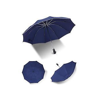 Automatisk inverterad paraply med led torch