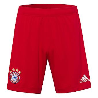 2020-2021 Bayern Munich Adidas Home Shorts (Red)