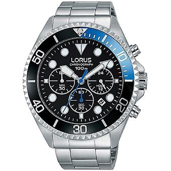 Lorus RT315GX-9 Stål armband kronograf Armbandsur