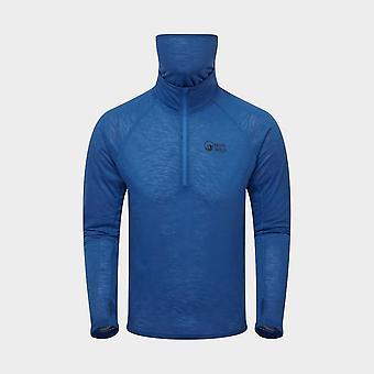 Neue North Ridge Men's Schmiede Halb Zip Top Blau