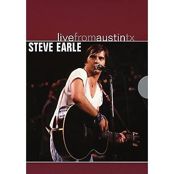 Steve Earle - Live From Austin Texas [DVD] USA import