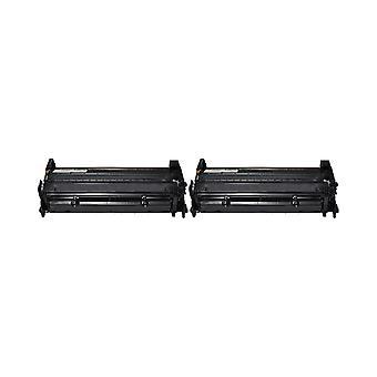 החלפת 2x עבור HP 26A יחידת טונר שחור תואם עם LaserJet Pro M402d, M402n, M402dn, M402dw, MFP M426dw, M426fdn, M426fdw