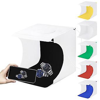 Mini Folding Lightbox 2 LED Photography Softbox