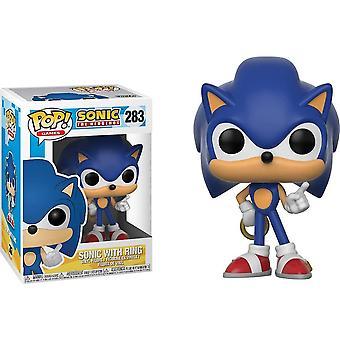 Sonic der Hedgehog Sonic mit Ring Pop! Vinyl