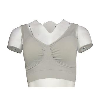 NorthStyle Bra Wire Free with Wide Straps Light Gray