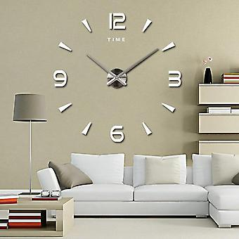3d Diy Quartz Stickers Wall Clock