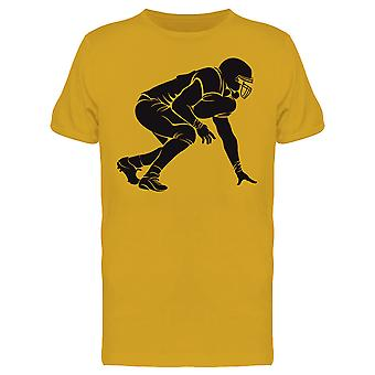Football Player Waiting Tee Men's -Image by Shutterstock
