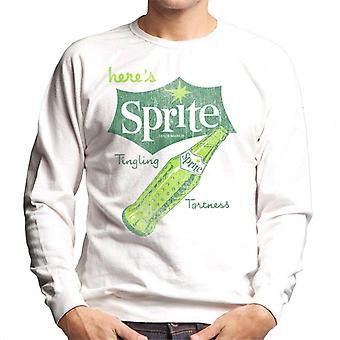Heres sprite tintelende Tartheid retro heren Sweatshirt