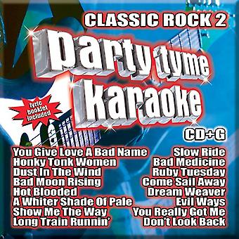 Various Artist - Party Tyme Karaoke: Classic Rock 2 [CD] USA import