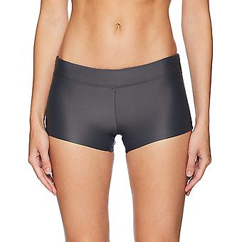 Coastal Blue Women's Swimwear Bikini Bottom, Asphalt, M (8-10)