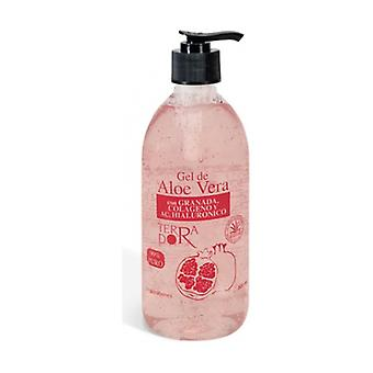 Aloe Vera gel with Pomegranate - Terra D'Or 500 ml