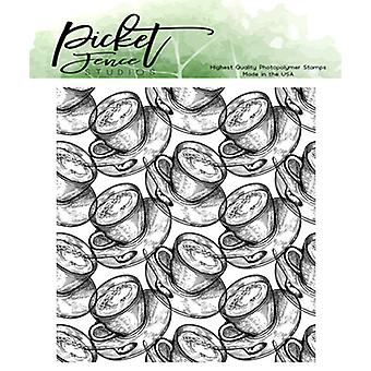 Picket Fence Studios Brew A Cup Clear Stamps