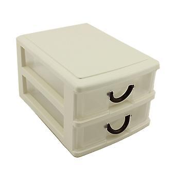 YANGFAN Makeup Organisateur Sturdy Plastic Storage Box