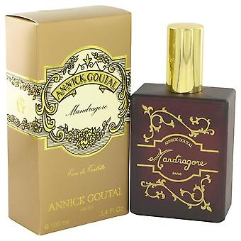 Mandragore eau de toilette spray by annick goutal 449359 100 ml