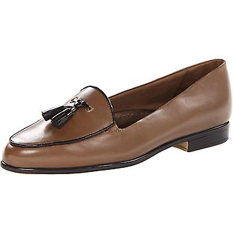 Trotters Womens Leana Leather Closed Toe Loafers