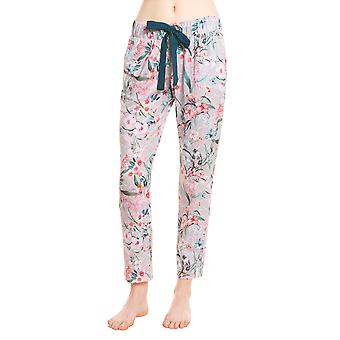 Rösch be happy! 1202114-16353 Women's Multicolor Flowers Pyjama Pant