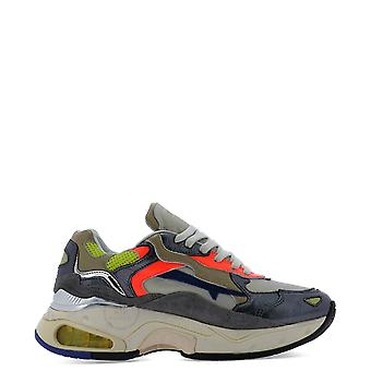 Premiata Sharkyd0024d Women's Grey Leather Sneakers