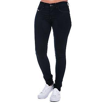 Women's Diesel Livier Super Slim Jegging Jeans in Indigo Size 29 inch