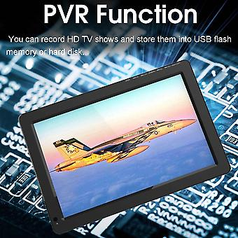 12v 18w 12.1 Inch Portabil Digital Mini Tv Dvb-t / Dvb-t2 Tft Led 1080p Hd Car Tv Suport Tf Card Usb