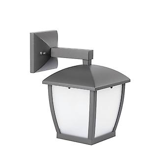 Faro Mini - 1 luz al aire libre linterna de pared pequeña gris oscuro IP44, E27