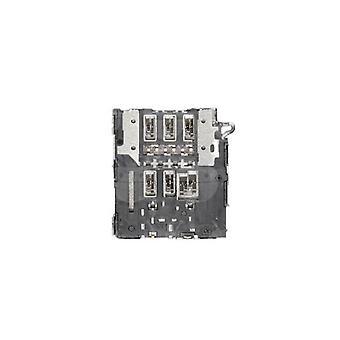 Genuine Samsung Galaxy A6 Plus - SM-A605 - SIM Card Reader - 3709-001880