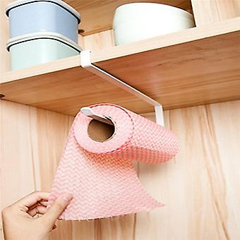 Hook Curl Design, S Type Kitchen Cabinet/door-paper Roll Holder