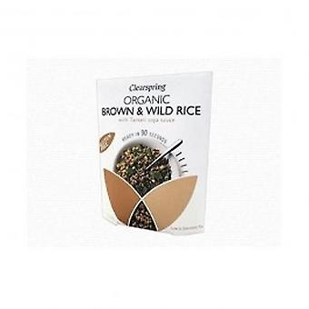Clearspring - Org Brown & Wild Rice w. Tama 250g