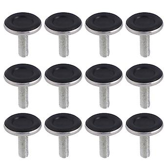 12 Pcs Of Chair /table Foot Protective Pad With M8 Screws