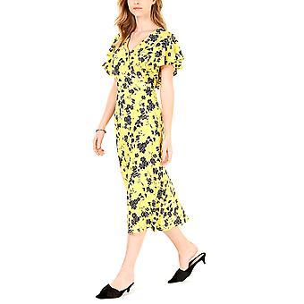Maison Jules   Flutter-Sleeve MIDI Kleid