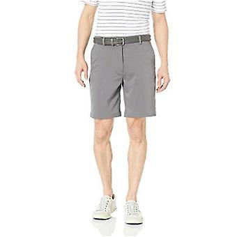 Essentials Men's Standard Classic-Fit Stretch Golf Short, Black, 40