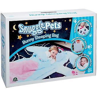 Snuggle κατοικίδια ζώα χαρακτήρα υπνόσακο - λαγουδάκι παιδιά παιχνίδι