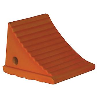 Buyers WC786 Fluorescent Orange Poly Wheel Chock
