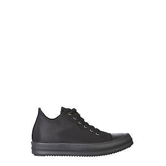 Rick Owens Drkshdw Ds20f1802cnp99 Women's Black Cotton Sneakers