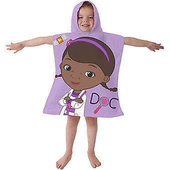 Doc McStuffins Childrens/Kids Hooded Towel