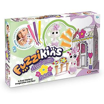 Florist-fuzzikins fuzzi street , characters and accessories, for age 4 years and
