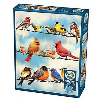 Cobble hill puzzle - birds on a wire - 500 pc