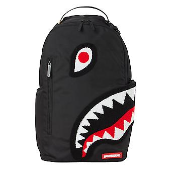 Sprayground Torpedo Shark Backpack - Black