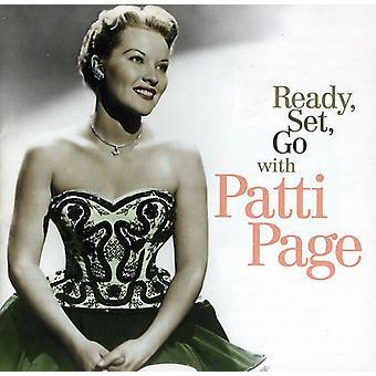 Patti Page - Ready Set Go with Patti Page [CD] USA import
