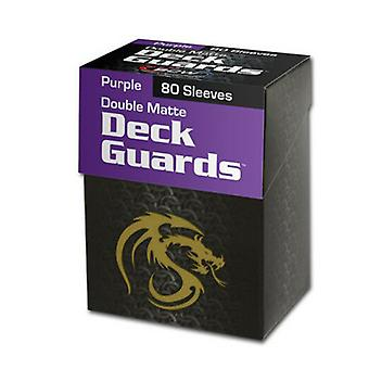 BCW Deck Guards Box & Protectors Double(80's)