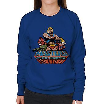 Masters Of The Universe He Man Classic Logo Women's Sweatshirt