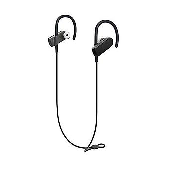 Audio-technica ath-sport50btbk sonicsport bluetooth trådløse in-ear hodetelefoner, svart