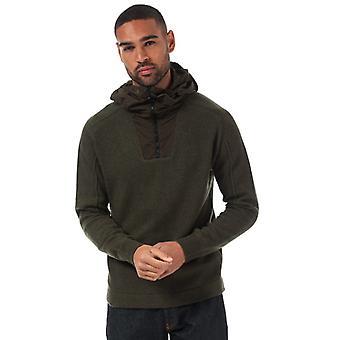 Men & apos; s C.P. Company Front Zip Knited Hoody i grönt