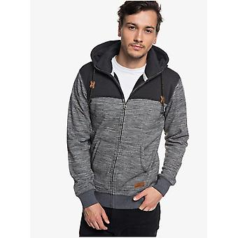 Double High Collar Zip-up Polar Fleece Hoodie
