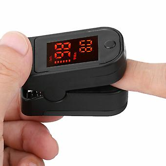 Finger Pulse Oximeter Pulse Details Over Sensor Portable Blood Oxygen Level Finger Pulse Oximeter