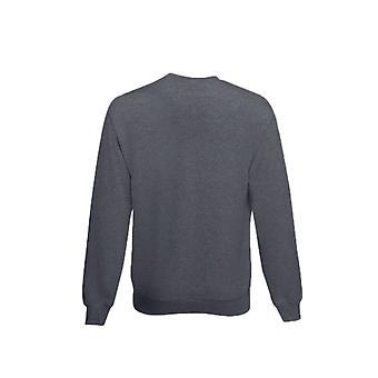 Frukt av vävstolen Mens Classic 80/20 Heather Set-in Sweatshirt