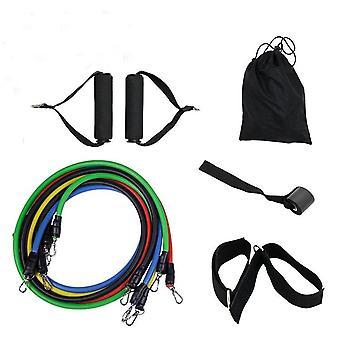 Jóga trubice, odpor pásy Set-elastický gumičkou, ťahať lano, Telocvičňa Fitness